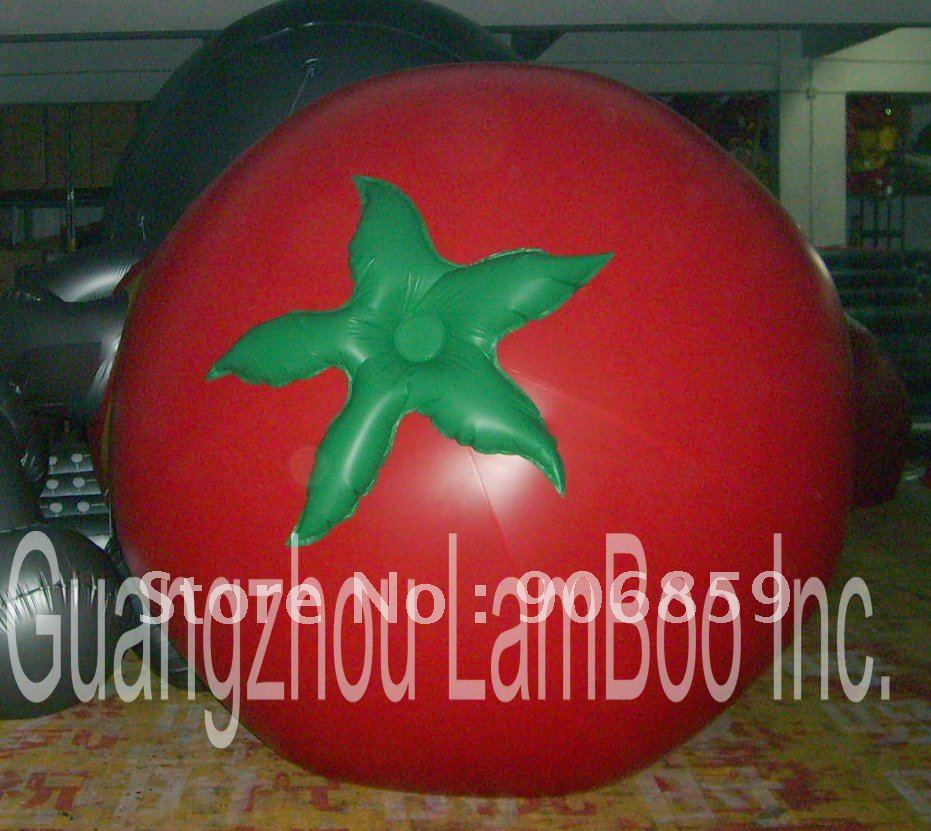 HOT 2m Inflatable Tomato Balloon for Advertisement/ Other vegetables and fruit shapes can be madeHOT 2m Inflatable Tomato Balloon for Advertisement/ Other vegetables and fruit shapes can be made