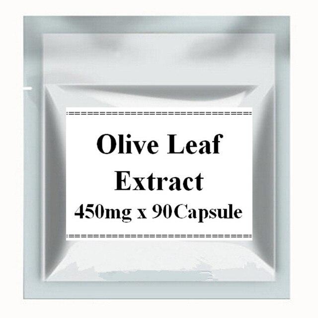 1 Pack Экстрактом Оливковых Листьев 20% Олеуропеин 450 мг х 90 Капсулы Мощный Антиоксидант бесплатная доставка