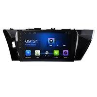 10.2 inch Android 8.1! car dvd player for Toyota corolla 2014 15 16 radio dvd GPS navigation 3G WIFI OBD DVR CAMERA FM AM BT USB