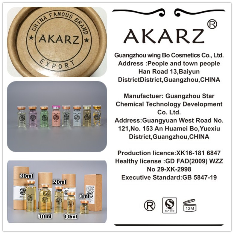 AKARZ Famous brand Eye care Serum Fade Wrinkles and Dark Circles and Under  eyes Relieve tired eye and dark circles fade wrinkles