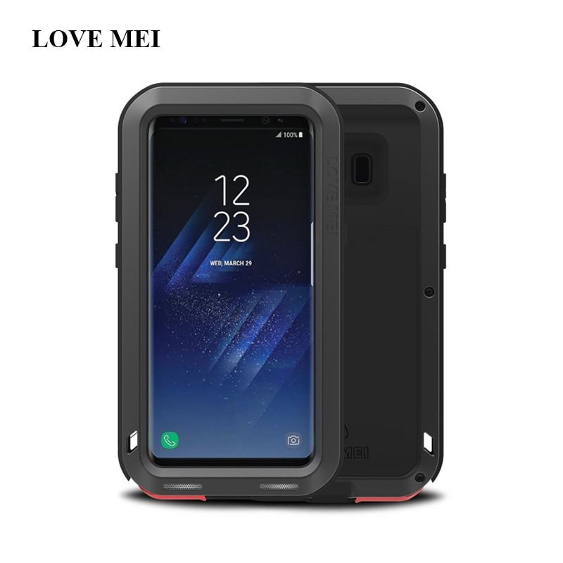 Funda de metal Love Mei para Samsung Galaxy S8 Plus Funda de - Accesorios y repuestos para celulares - foto 4