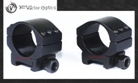 Vector Optics 30mm Extreme Low Scope Six Bolts Ring Weaver Mounts 20mm Base for Tactical & Hunting