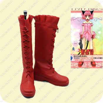 Tokyo Mew Mew boots Japanese Anime Momomiya Ichigo Cosplay Shoes - DISCOUNT ITEM  19% OFF All Category