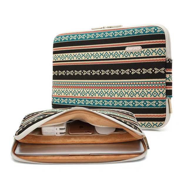 """New Waterproof Laptop Sleeve With Inner Bag For Charger 11"""" 13.3"""" 15.6"""" 17.3""""  Soft Ultrabook Case Cover For macbook Air Pro"""
