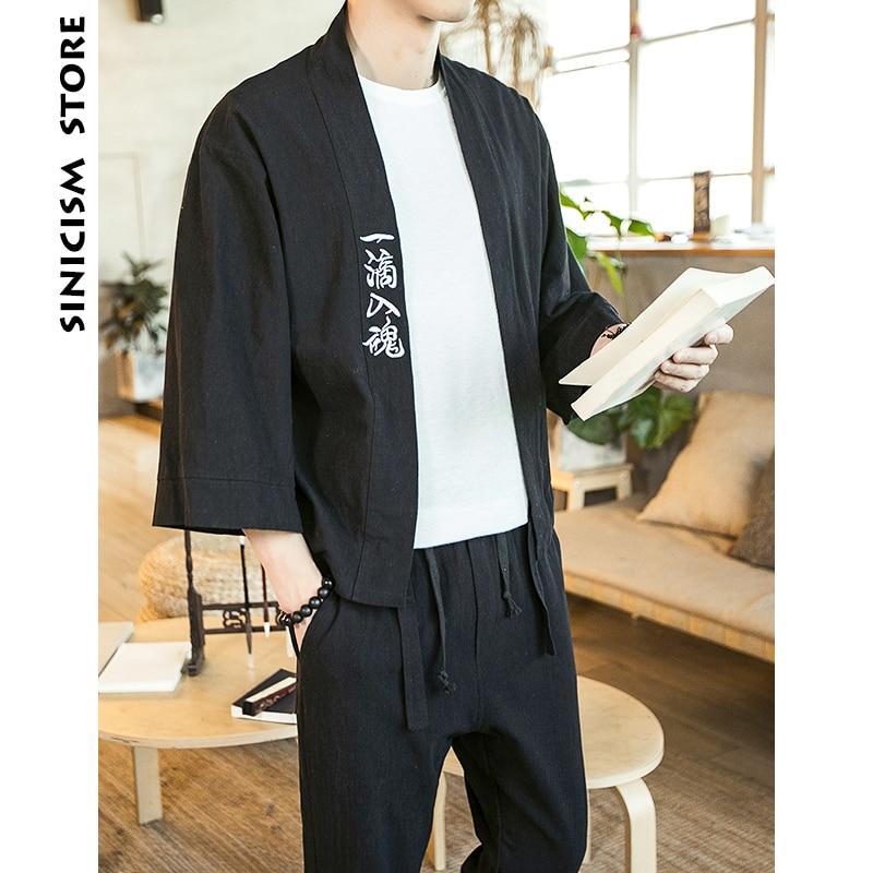 Chinese Men Streetwear Kimono