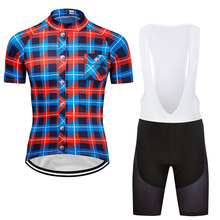 цены 2019 Men's Cycling Jersey Set MTB Road Team Bike Wear Breathable Short Sleeve Maillot Ropa Ciclismo Sports Jerseys Suit Clothes