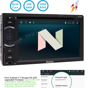 Android 7.1 Double Din in Dash