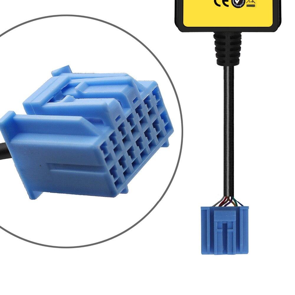Автомобиль Mp3 телефон AUX USB адаптер 3.5 мм кабель вспомогательный CD автоматической смены адаптер для Honda 2.3 для CIVIC/ accord/Odyssey/CRV QX006