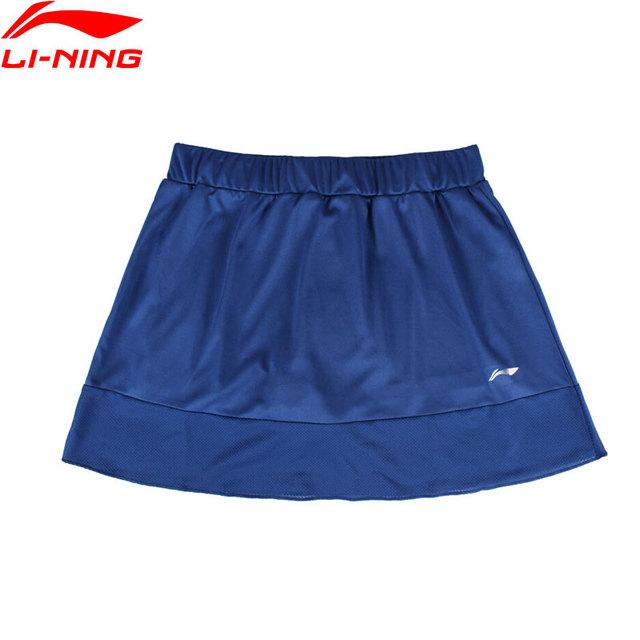 Li-Ning Women's Badminton Skirt Shorts Regular Fit Comfort AT DRY Breathable LiNing Sports Skirts ASKN018