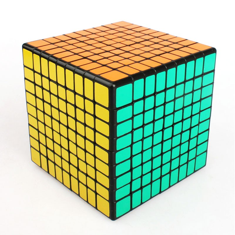 ShengShou 9x9x9 cube 9 Layers 92mm 9x9 Cube Puzzle Black