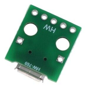 Image 3 - 10 sztuk Micro Usb do adaptera Dip 5Pin złącze żeńskie typu B Pcb konwerter