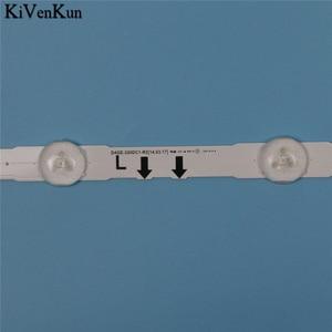 Image 4 - 7 ламп светодиодная лента подсветки для Samsung UE32J5600AK UE32J5605AK UE32J6200AW UE32J6250SU UE32J6300AU, комплект для баров, телевизионная Светодиодная лента