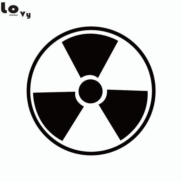 Nuclear Symbol Super Hero Incredible Hulk Logo Vinyl Wall Sticker In