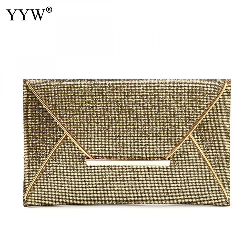 Women Leather Handbags Sequined Clutch Bag Korea Famous Luxury Designer Envelope Messenger Bags Purse Sac A Main Bolsos Mujer