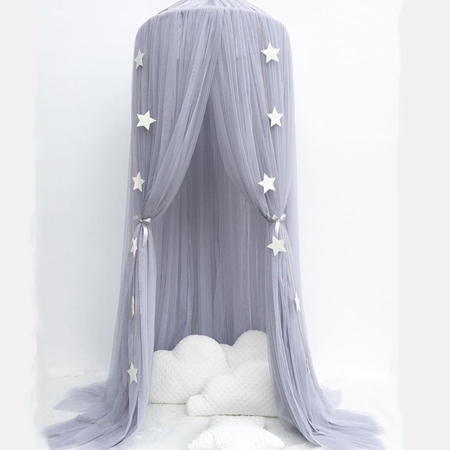 Children's Room Decoration Curtain infantil Playtent Princess Hung Dome Mosquito Net Baby Bedding Set Baby Crib Netting Tent
