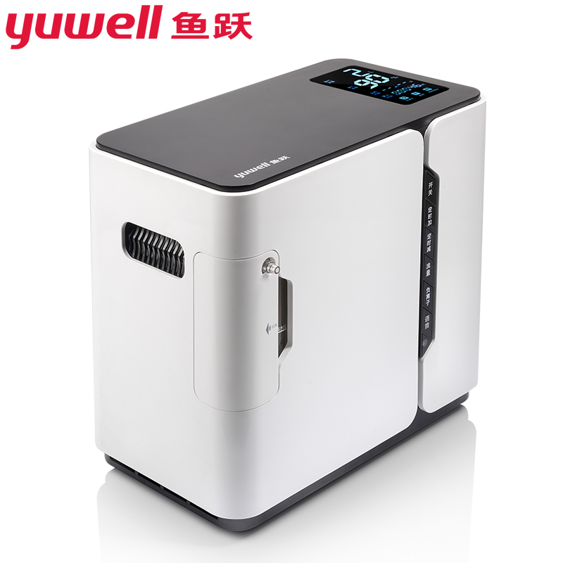 Yuwell Medical Oxygen Concentrator Generator Portable Mini Supply Machine Hospital Home Use 94% O2 1-7L Adjustable Flow YU300 S medical and health care portable battery oxygen concentrator 5l 90% purity home car and outdoor travel recommended o2 generator