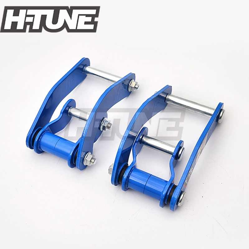 H TUNE 4x4 Pickup Rear Leaf Spring Comfort Double G Shackles Kits for RANGER PX MAZDA