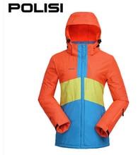 Polisi Professional Thermal Warm Ski Jacket Waterproof Windproof Outdoor Sport Snowboard Coats Women Skiing Snow Clothing