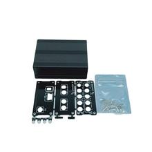 Caja de aluminio negra para LimeSDR, carcasa de uso común, USB, tipo A, tipo B, color negro, 1 unidad