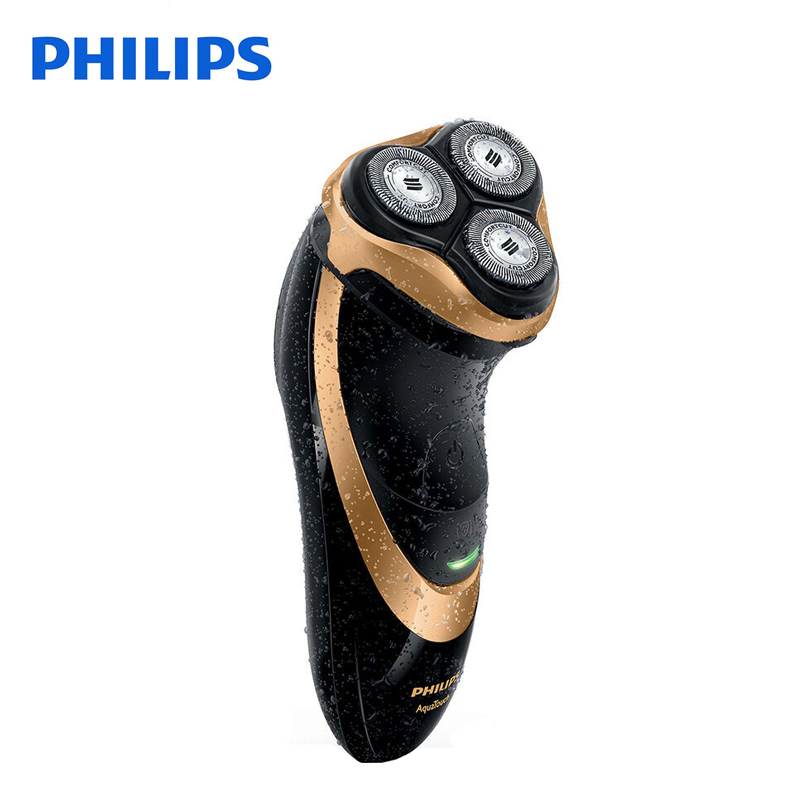 Image 3 - 100% Original Philips Professional Electric Shaver AT798 Rotary Rechargeable For Men With Triple Floating Blades Wet&Dry Shaving-in Electric Shavers from Home Appliances