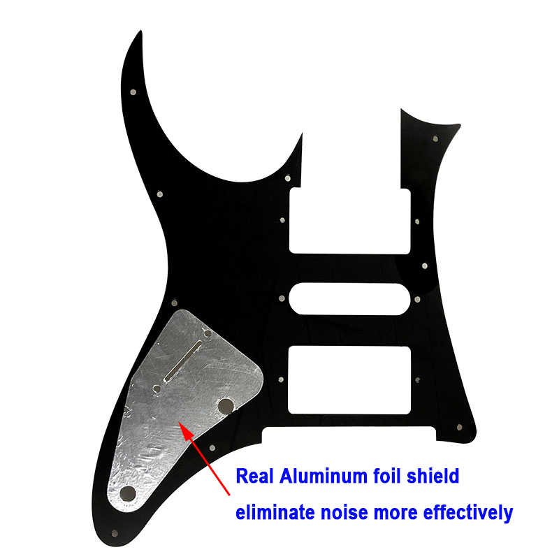 Pleroo Guitar accessories pickguards with screws suit for Japan MIJ Ibanez  RG350 DX Guitar Pickguard Music Replacement Accessory