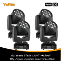(4PCS)  Zoom Led Beam Wash Moving Head Light 7PCS RGBW Quad-Color Led Lamp DJ Led Effect Light DJ Disco Light
