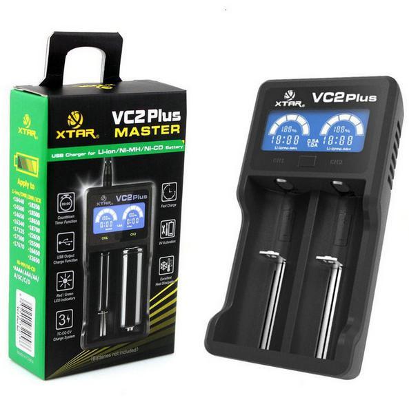 for 18500 18650 XTAR VC2 Plus Portable Handy LED Display font b Power b font Source