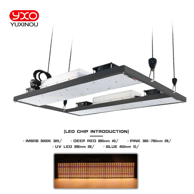 Quantum Board Full Spectrum 200W 400W 600W 800W Samsung LM301B 3000K 660NM 395NM 450NM Dimmable Meanwell Driver  LED Grow Light
