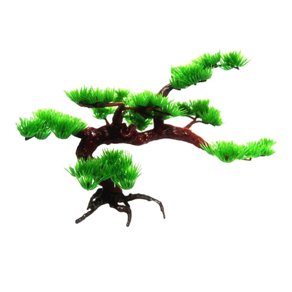 1 Pc Aquarium Rock Bonsai Aquarium Steingarten Künstliche Kiefer Baum Zu Pflanzen Aquarium Dekoration Zubehör (große Kiefer)