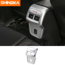 SHINEKA Car Accessories Rear Air Conditioning Outlet Panel Cover for Chevrolet Equinox 2017
