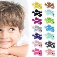 Силиконовые бусины черепаха милый смешной DIY ювелирных изделий для детей Прорезыватель игрушки прорезывание зубов