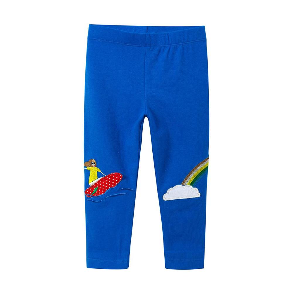 VIDMID baby Girls leggings pants for Appliques trousers kids girls pencil pants rainbow clothes leggings children autumn pants children s clothes girls autumn cotton pants kids casual jeans leggings blue color female child star hole trousers pencil pants