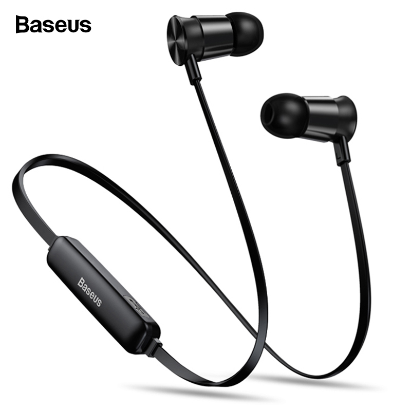 d4a4571e597 Baseus S07 Wireless Earphone CSR Bluetooth Headphones For Phone iPhone  Xiaomi mi IPX5 Wireless Headset Stereo