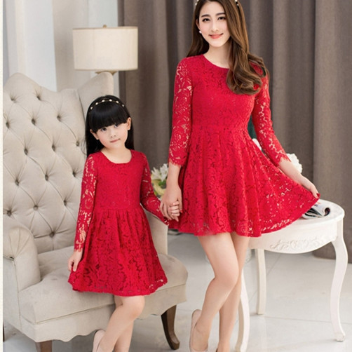 b11996188 vestidos para navidad mama e hija