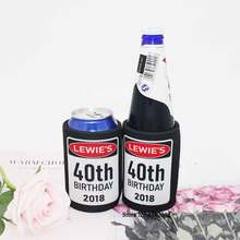 50pcs/lot Print Design Isothermal Cooler For Picnic Beer Can Cover Custom Stubby Holders Insulated Bag Can Cooler Neoprene