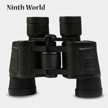 Outdoor High-definition Binoculars Night Vision Low-light Telescope Black Two-fingerprint Waterproof Portable Telescope