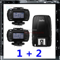 Pixel King Pro Wireless 1 8000s I TTL Flash Trigger With 2 Receivers For Canon 5d3