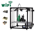 Flsun 3D Printer 3.2 Inch Touch Screen Large Printing Area 260*260*350mm Auto Leveling Heated Bed with dual extruders