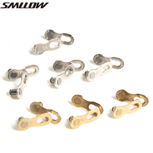 1pair of Practical Mountain MTB Road Bike Chain Buckle Connector Magic button6-7-8 9 10 Speed Button