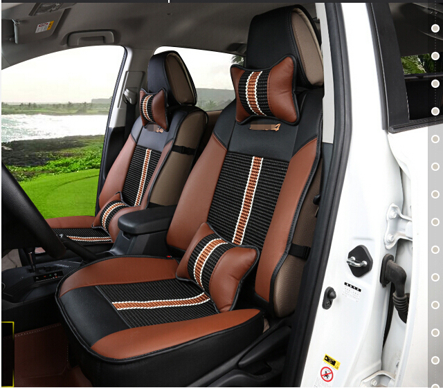 Good Free Shipping Special Car Seat Covers For Toyota RAV4 2014 Breathable Comfortable Leather