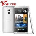 """HTC ONE MAX 2G RAM 4 Cores смартфонов 5.9 """"большой Экран 1080 P Отпечатков Пальцев Сканер Android 4.4 4 Г LTE мобильных телефонов"""