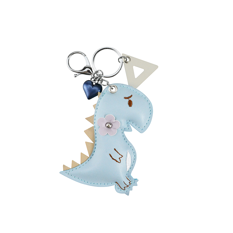 Handmade alloy key chain with 6 assorted colors crystal G Clef GC