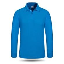 men women polo shirts plain long sleeves turn down collar  mens fashions hombre 2019 cusal