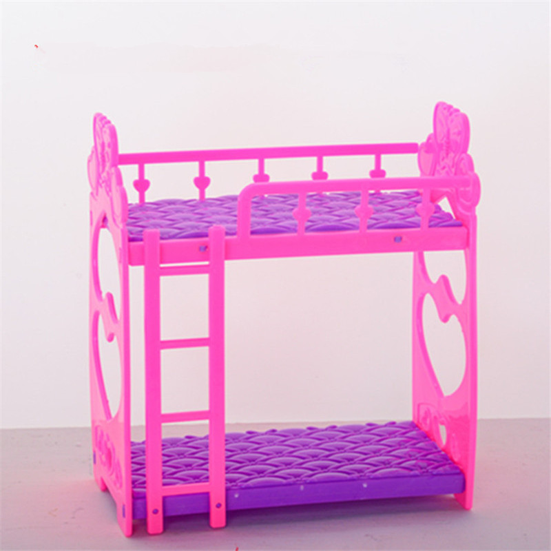 Aliexpress.com : Buy Mini Play House Plastic Bed for Doll