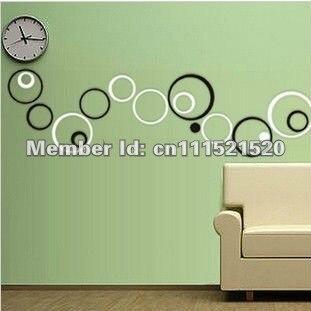 а-27 стены искусства круг форма 3д деревянные дома декор стены декор