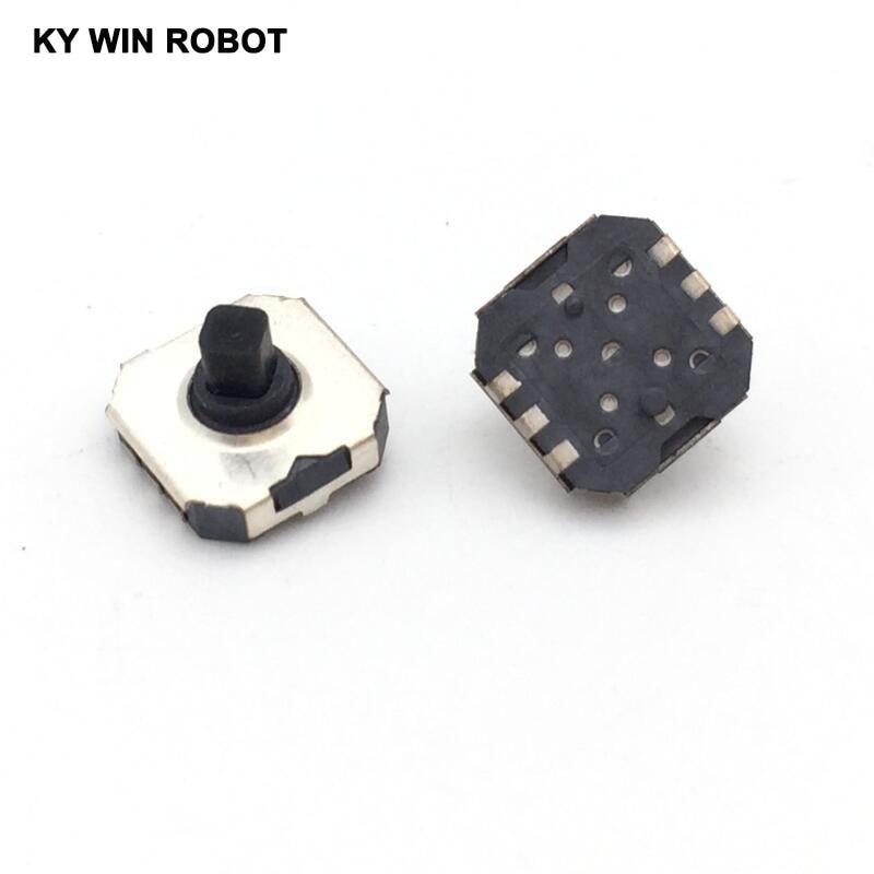 10 unidades/lotes japão alps skrhabe010 5 sentido smd tact interruptor botão manche em multi 7x7,7*7*5mm handy telefone digital c