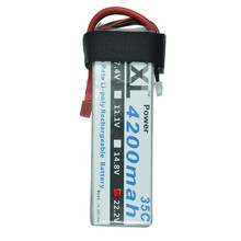 XXL 4200mAh 22.2V 6S 35C Max 70C LiPo Battery for RC Helicopters Remote Control Toys Cars Boats Rechargeable