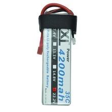 XXL 4200 mAh 22.2 V 6 S 35C Max 70C LiPo Batterie pour RC Hélicoptères Télécommande Toys Cars Bateaux Rechargeable