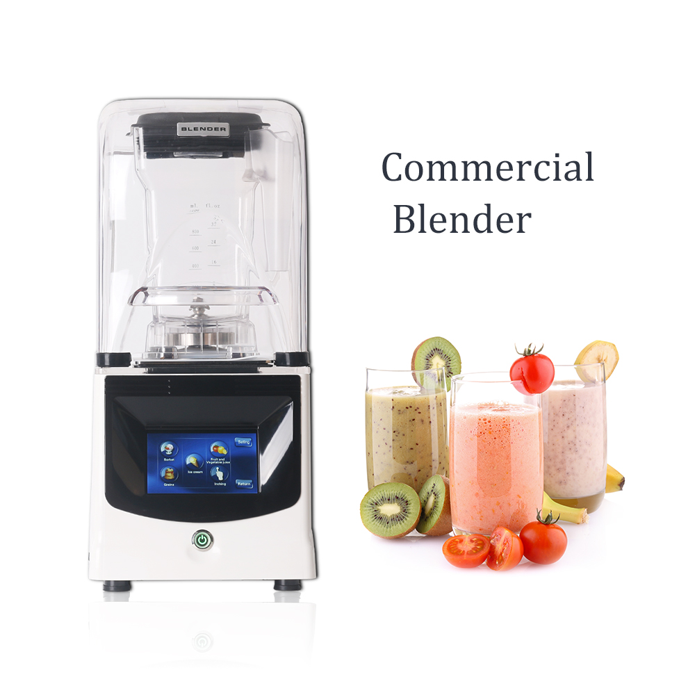 BPA Free Commercial Blender 1 5L Mixer Multifunction Blender Juicer Smoothie Intelligent Control Reduce Noise Food Processor in Blenders from Home Appliances