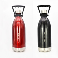 1500ML stainless steel thermos drink water bottle Outdoor Portable bottle for water sports bidon gourde my bottle
